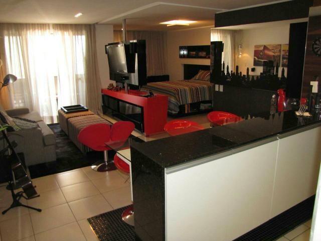 Loft todo projetado e mobiliado, próximo a Beira-mar