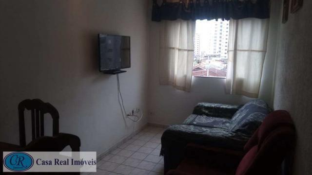 Apartamento à venda com 1 dormitórios em Aviação, Praia grande cod:507 - Foto 2