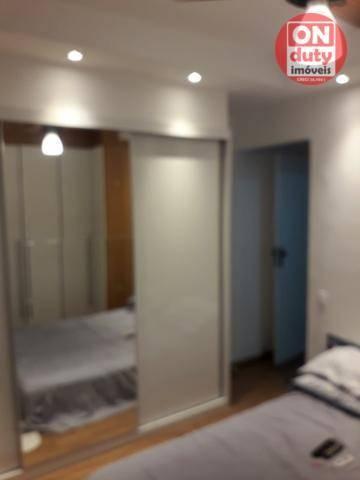 Apartamento com 3 dormitórios à venda, 120 m² por R$ 630.000 - Aparecida - Santos/SP - Foto 8