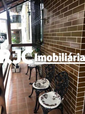 Casa de vila à venda com 4 dormitórios em Tijuca, Rio de janeiro cod:MBCV40053 - Foto 2