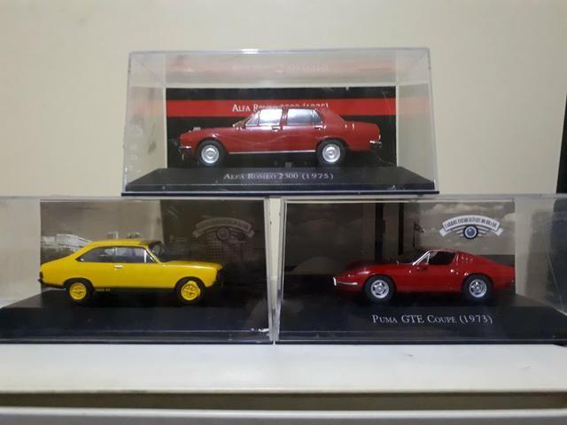 Kit Miniatura Diversas Puma / Alfa Romeo / Dodge Polara Escala 1/43