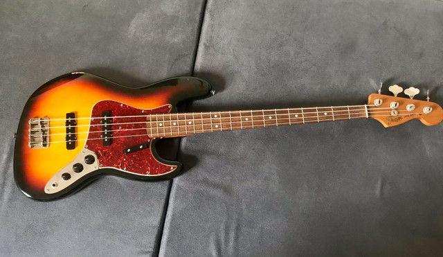 Baixo fender jazz bass Classic 60s - Foto 6