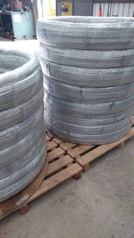 Tubo Inox 304 5/16 para serpentina de chopeira 1 metro