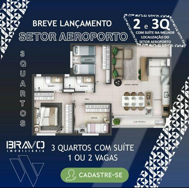 Apartamento de 2/4 com Suíte Setor Aeroporto, Entrada 22 mil - Foto 13