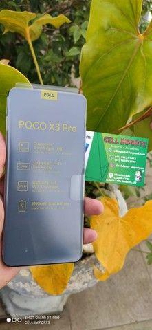 Xiaomi Poco X3 Pro NFC Dual Sim 256Gb/8Gb Com 6 Meses De Garantia Cor Dourado/Azul - Foto 4