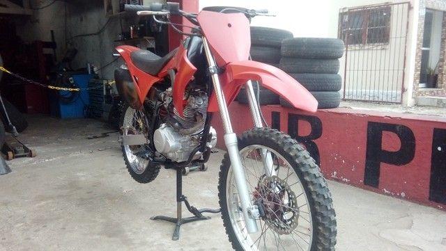 Moto veloterra / trilha CRF 200cc - Foto 5