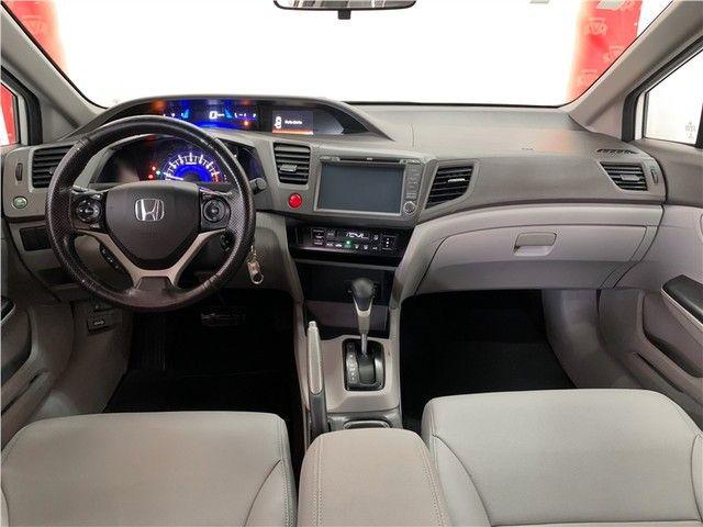 Honda Civic 2014 1.8 lxs 16v flex 4p automático - Foto 13