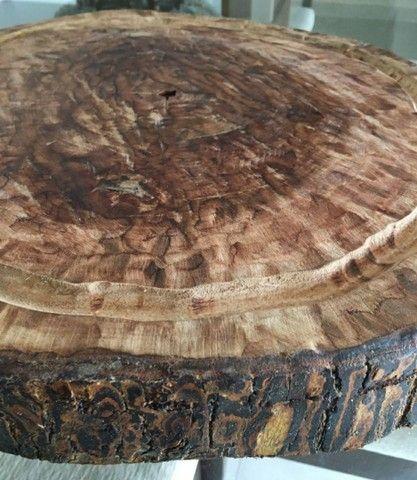 Tábua para churrasco de madeira