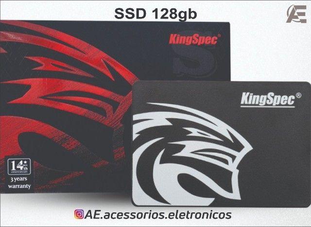 SSD 128gb kingspec - Entregamos e Aceitamos Cartões