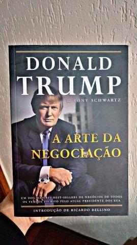Livro A Arte da Negociação - Donald Trump