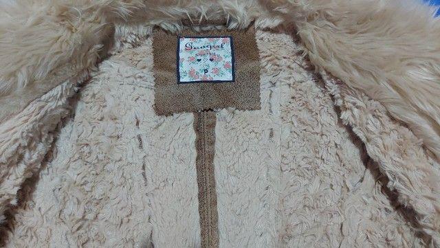 Jaqueta de pelinho - Foto 2