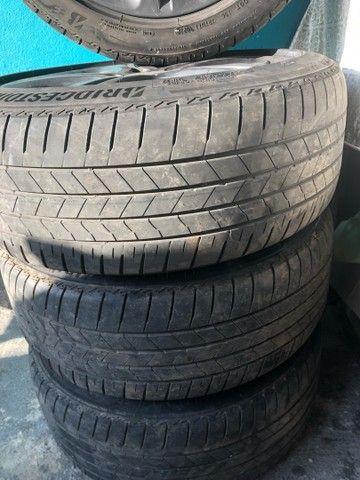 Jogo c 4 rodas p/ Mercedes A200 17, ano 2014+ pneu 225/45 17 - Foto 2