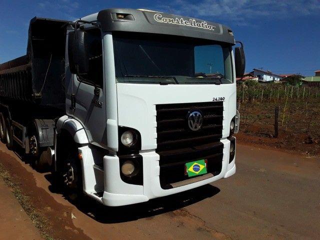 caminhão Volkswagen constellation 24.280  - Foto 8