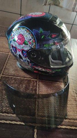 Vendo capacete axxis  - Foto 2