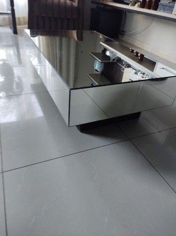 Vendo Linda Mesa de centro em espelho  - Foto 2