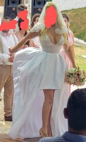 Vestido de Noiva High Low - Foto 3