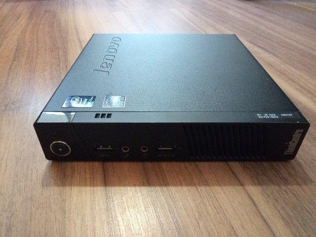 Computador - Desktop - Mini Pc Lenovo -i7 - 4th - DDR3 8GB - HD 500GB - Foto 6