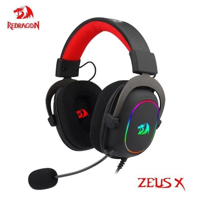 Headset Redragon Zeus X h510 - Entregamos e Aceitamos Cartões