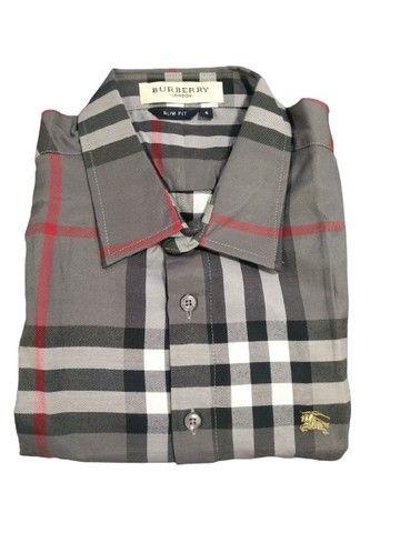 Camisa Xadrez e Listrada Arraia Kadex - Foto 3