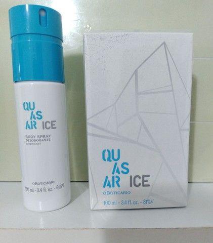 Quasar Ice