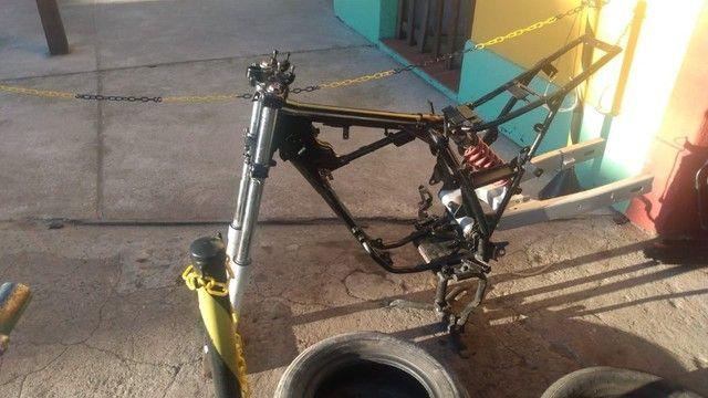 Moto veloterra / trilha CRF 200cc - Foto 10