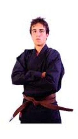 Kimono traçado para jiu-jitsu ou judô