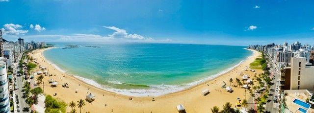 O melhor 2 quartos na Praia da Costa - Amplo e Alto Luxo na Av Gil Veloso - Vista Frontal! - Foto 20