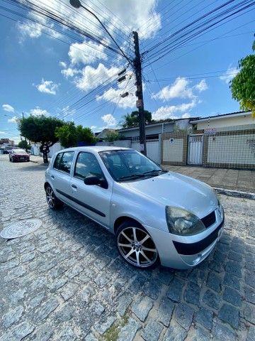 CLIO 2005 COMPLETO PRONTISSIMO PRA USO ( TROCO - VENDO - FINANCIO ATE 60x )  - Foto 5