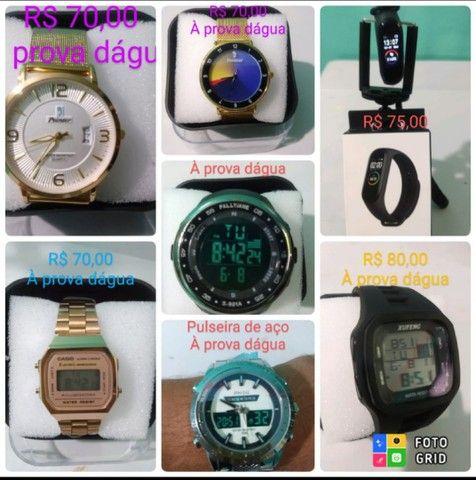 Vendo Relógios à prova dágua e com qualidade  - Foto 2