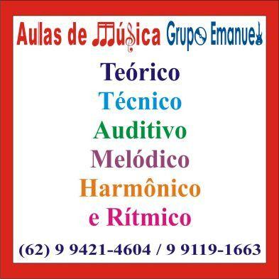 Curso teórico, técnico, auditivo,, melódico, harmônico e rítmico
