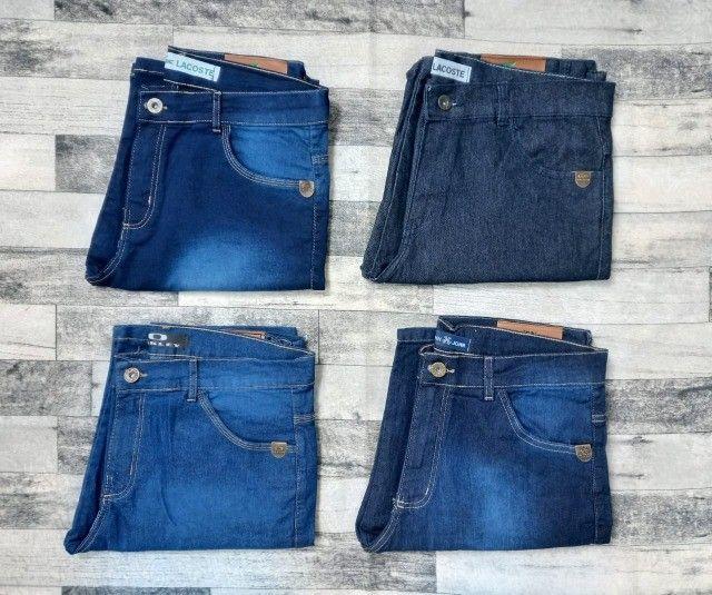 Bermuda Jeans de grife (Produto Novo) - Foto 2