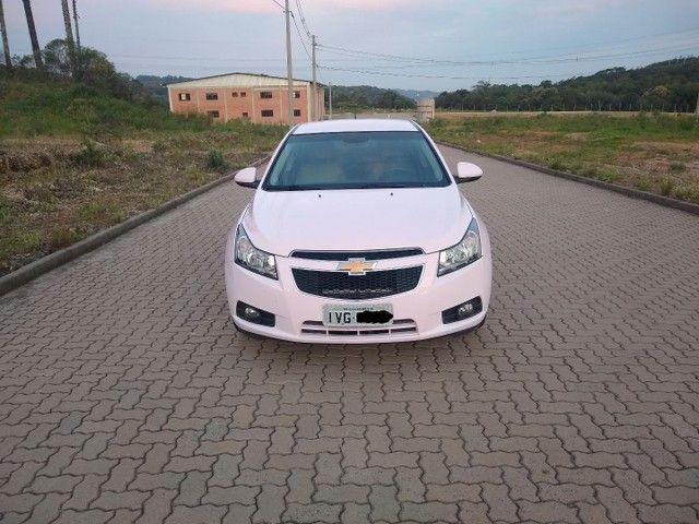 Cruze LTZ automático 2014 Único dono, raríssimo modelo na cor Rosa. - Foto 2