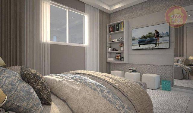 Apartamento com 2 dormitórios à venda, 68 m² por R$ 314.600 - Vila Guilhermina - Praia Gra - Foto 7