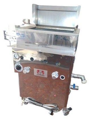 Fritadeira quadrada com cestos Loja do Pasteleiro para salgados e porções * Peça Única  - Foto 3