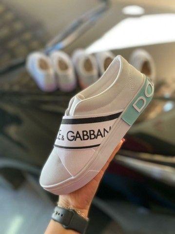 Tênis Meinha Dolce e Gabbana Primeira Linha na Caixinha Atacado - Foto 5