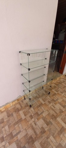 Estante de vidro para loja  - Foto 3