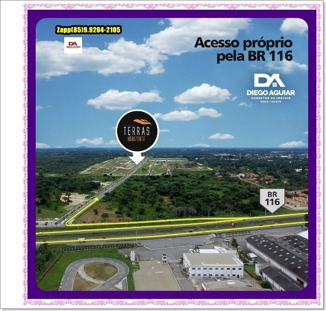 Lotes Terras Horizonte - Construção Liberada-&#$ - Foto 5