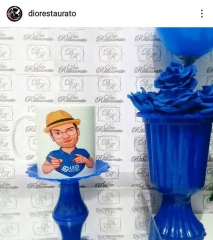 @diorestaurato, Xícara de porcelana personalizada! - Foto 4