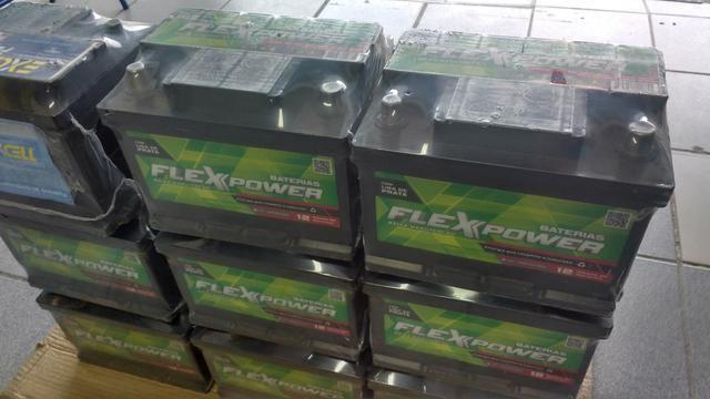 Baterias flexpower de ótima qualidade 12 Meses de garantia