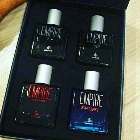 Kit Empire Hinode 4 fracos 35 ml (com brinde leia)