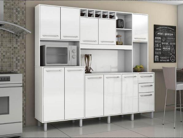 Cozinha Petra 11 Pts, 2 Gts e Mini Adega ( Em até 12 X sem Juros ) - Foto 2