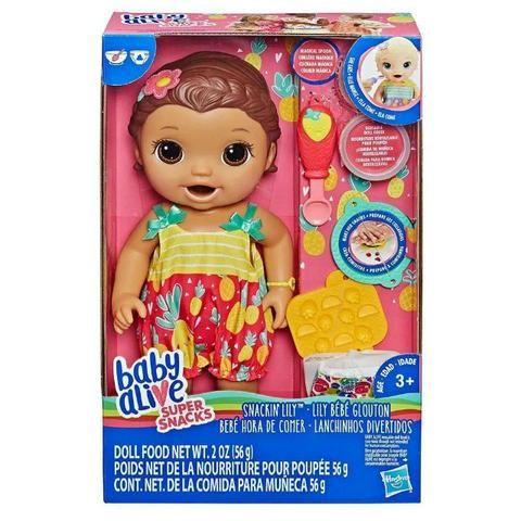 62c8a030d7 Boneca Baby Alive Lanchinho Divertidos Morena - Artigos infantis ...