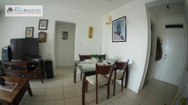 Apartamento com 3 dormitórios à venda, 70 m² - Graça - Salvador/BA - Foto 3