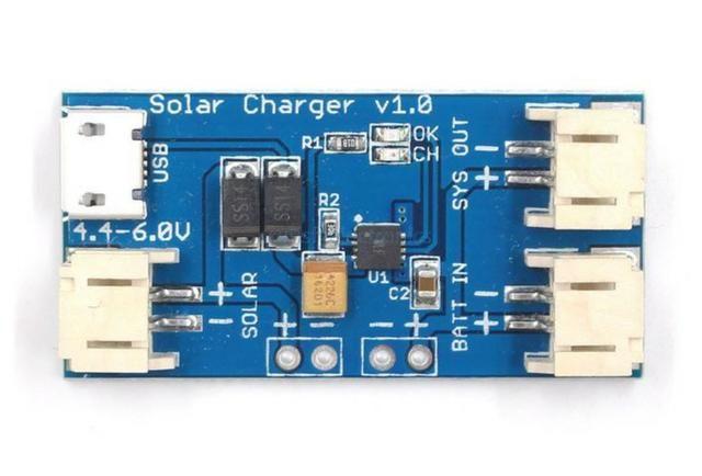 COD-AM213 Mini Carregador Solar CN3065 Carregador De Bateria De Lítio Arduino Automação - Foto 3