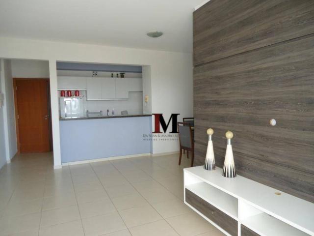 Alugamos apartamento semi mobiliado com 3 quartos em excelente localização - Foto 12