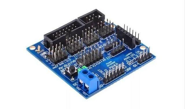 COD-AM146 Módulo Sensor Shield V5.0 Arduino Automação Robotica