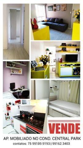 Vendo apartamento mobiliado