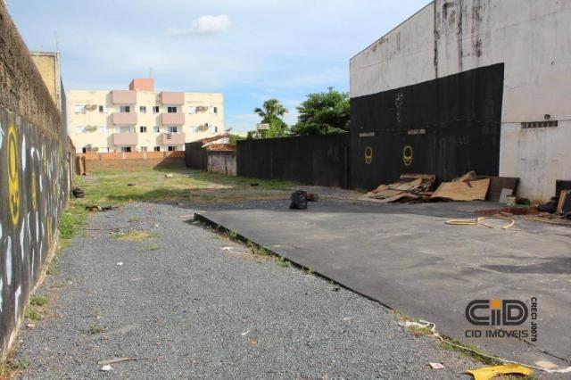 Terreno para alugar, 1025 m² por r$ 2.500,00/mês - porto - cuiabá/mt - Foto 3