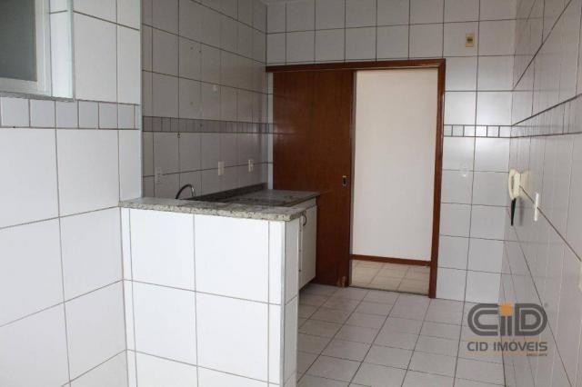 Apartamento com 3 dormitórios para alugar, 92 m² por r$ 1.000/mês - centro sul - cuiabá/mt - Foto 11