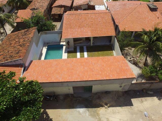 Casa amplo deck piscina 3 suites centro paracuru - Foto 9